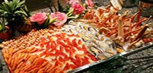 大陆咖啡厅海鲜自助餐